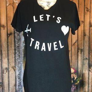 Travel tee Boutique T-shirt